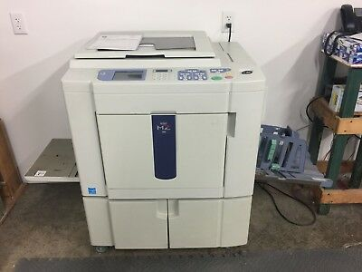 Riso MZ990 Two-Color, Single-pass Digital Duplicator