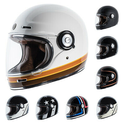 *fast Shipping* Torc T-1 Retro Full Face Motorcycle Helmet