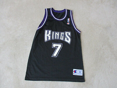 VINTAGE Champion Bobby Hurley Sacramento Kings Basketball Jersey Adult  Medium 70bd75baa