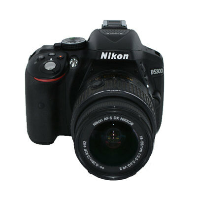 Nikon D5300 24.2 MP Digital SLR Camera with AF-P 18-55mm VR Lens (Black) - DEAL!