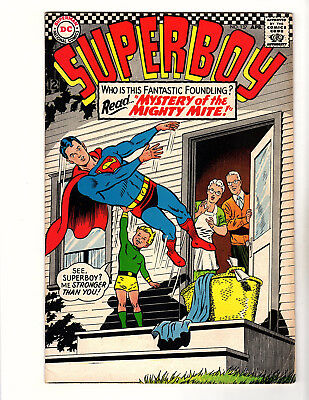 """Superboy #137 (1967, DC) VG/FN """"Mystery of the Mighty Mite!"""" Curt Swan Cover"""