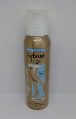 Sally Hansen AirBrush Legs Deep Glow 3703-04 Water Proof Leg Makeup New Sealed