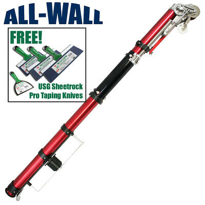 LEVEL 5 Drywall Automatic Taper / Taping Tool + Free USG Sheetrock Taping Knives