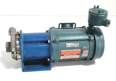 Liquiflo 62FH33 Centrifugal Pump  w/ Reliance Electric P56H4858P-GA Motor