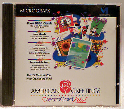 American greetings creatacard plus pc program 849 picclick american greetings creatacard plus by micrografx version 101 from 1996 m4hsunfo