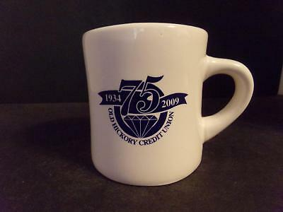 Old Hickory Tennessee Credit Union Coffee Cup 1934-2009 75 Years (Nn)
