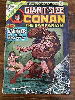 Giant-Size CONAN the BARBARIAN No 2 Dec 1974 MARVEL Comics BRONZE AGE Comics