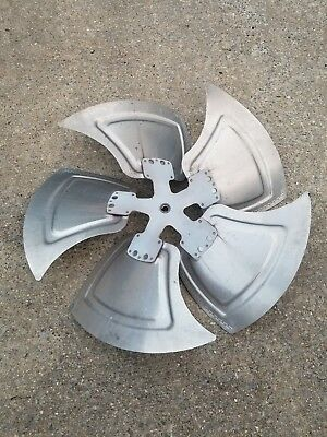 Metal Industrial Steampunk Fan Blade Art Deco 30""