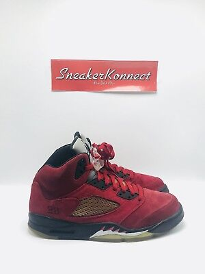 outlet store a8231 00e6a Air Jordan Retro 5 V Raging Bull Pack Toro Bravo Red ONLY Size 11 136027-