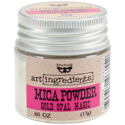 Finnabair Art Ingredients Mica Powder - Gold Opal Magic - 17g