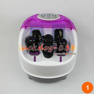 Premium Tub Detox Ionic Ion Foot Bath Cell Aqua Cleanse Spa Machine Tub 4 Arrays