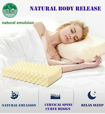 100% Natural  Latex Pillow For Better Sleep 10 Year Warranty Made In Thailand