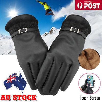 Women Winter Gloves Warm Leather Click Touch Screen Magic Gloves For Smart Phone