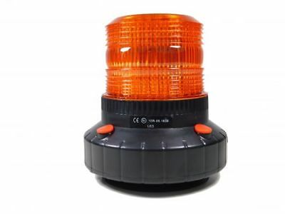 Akku Rundumleuchte mit Magnet orange, LED-Technik