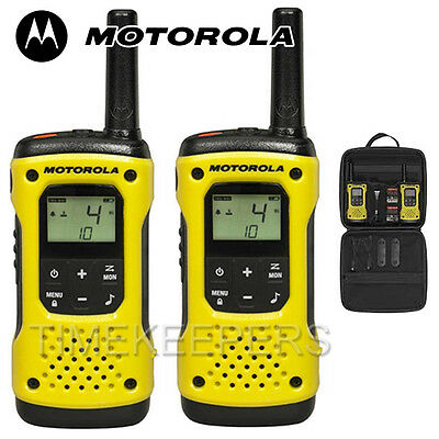 10Km Motorola TLKR T92 Floating Walkie Talkie 2 Way PMR 446 Security Radio Twin