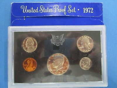 1972 USA Proof Set of Coins.