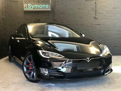 2017 Tesla Model S P100D Ludicrous. 7 seat upgrade
