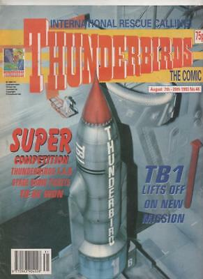 Thunderbirds The Comic #48 1993 (Fleetway) Fine+ conditon