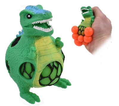 Squeezy Mesh Dinosaur - Nv356 Squeeze Meshable Squishy Ball Stress Relief Fun