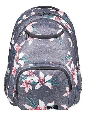 Roxy Shadow Swell Backpack - Charcoal - Ladies Backpacks
