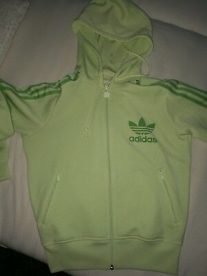 Adidas Trainingsjacke mint grün/grün in 40, top
