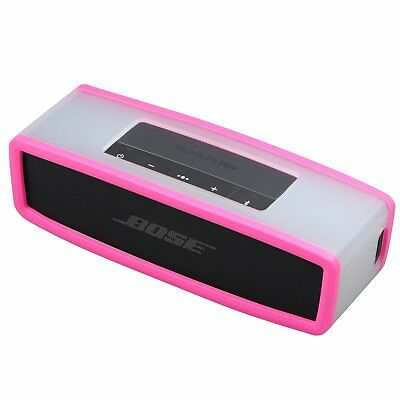 Pink Cover Box Silicone Carry Case Bag For SoundLink Mini Bluetooth Speaker