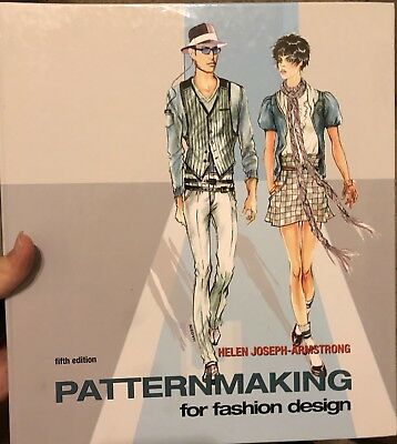 Patternmaking For Fashion Design 5th Edition Helen Joseph Armstrong Like New 114 95 Picclick