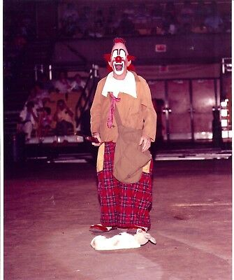1982 - Ringling Bros. Red Unit - Lou Jacobs, World famous Clown