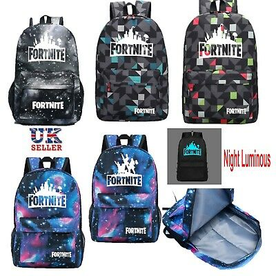 Fortnite Game Battle Royale Schoolbag Backpack Rucksack School Bag Satchel 20 L