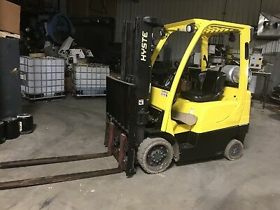 2012 Hyster S50FT Warehouse Industrial Forklift 5K Lift Truck W/Side Shift.