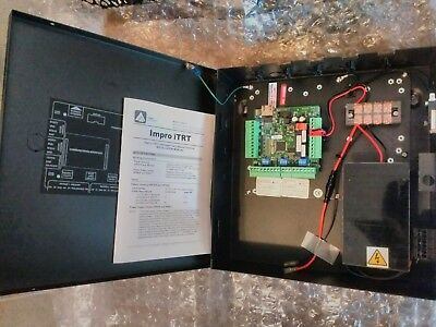 Access control panel IMPROX IPS921 twin reader battery/AC TCP/IP door controller