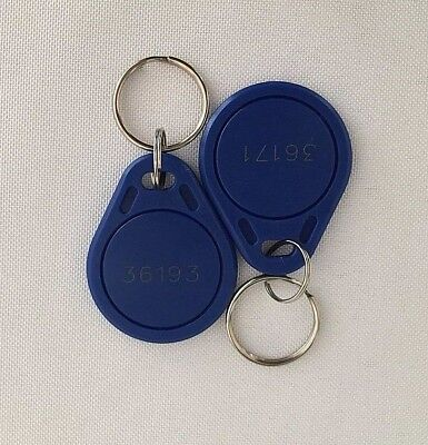 25 Keyfobs Lot Proximity Key Fob Works with HID Proxkey 1346 26 Bit 125kHz