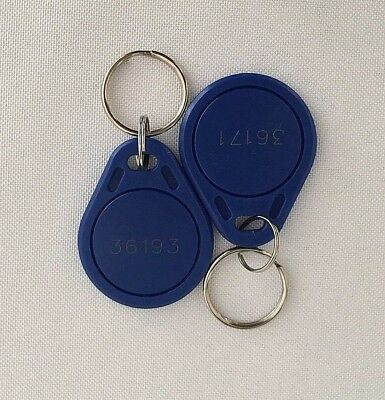 75 Keyfobs Lot Proximity Key Fob Works with HID Proxkey 1346 26-Bit 125kHz