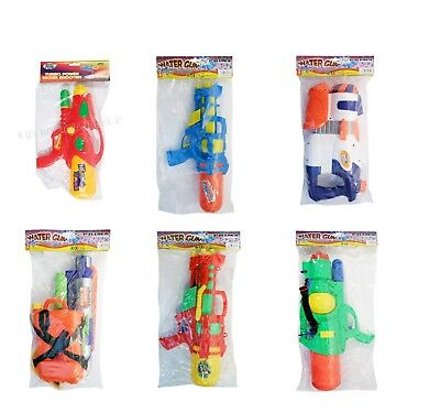 Kids Small Water Gun Pistols Party Bag Fillers Birthday Beach Pool Garden Fun