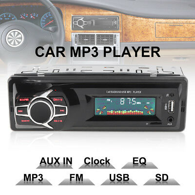 Car Autoradio 4 Channel Stereo MP3/USB/SD/AUX-IN FM Radio Player Amplifier