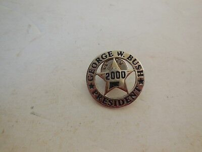 GEORGE W. BUSH for PRESIDENT 2000 pin - FREE SHIPPING