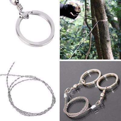 Emergency Survival Gear Steel Wire Saw Camping Hiking Tools  saleP