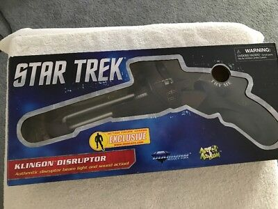 Star Trek Art Asylum Klingon Disruptor used