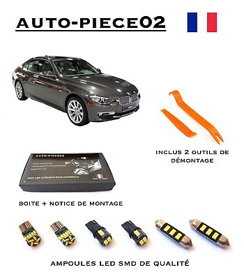 Pack FULL LED intérieur pour BMW Série 3 F30 F31 ( Version light )
