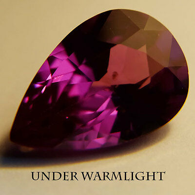 10.60ct.AWESOME RUSSIAN COLOR CHANGE ALEXANDRITE PEAR GEM