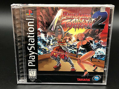 Battle Arena Toshinden 2 Sony Playstation 1 Ps1 Brand New