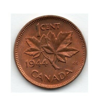 Canada Small Cent 1944 (Penny) Coin