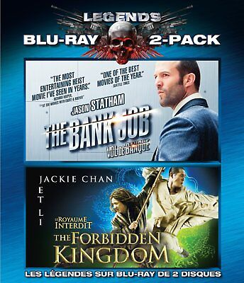 The Bank Job / The Forbidden Kingdom 2-Pack [Blu-ray] New and Factory Sealed!!