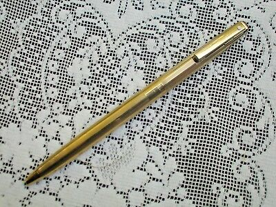 Sheaffer Ballpoint,23k Gold Electroplated~Black Jewel on Top~No Logo or Engrave