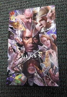 "SDCC 2018 Alex Ross ""Glass"" Movie Poster Print 11x17 Comic-Con Exclusive HOT"
