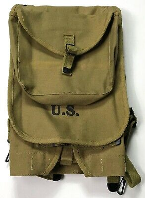Wwii Us Army M1928 Haversack Combat Field Pack-Od#3