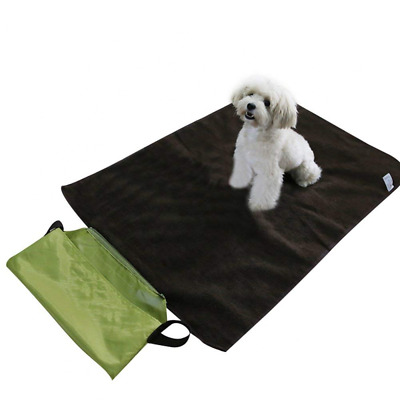 Pet Mat Pad Blanket Portable Warm Cushion for Outdoor Travel Indoor Kennel NEW