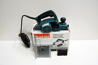 """Makita KP0800 Planer 6.5Amp 3-1/4"""" (82mm) 17,000RPM Excellent USA Used"""