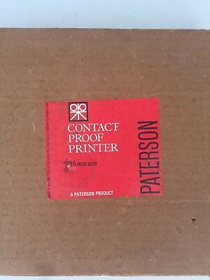 Paterson 35mm Contact Proof Printer