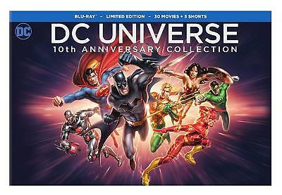 DC Universe: 10th Anniversary Collection (Blu-ray Disc, 2017, 31-Disc Set)